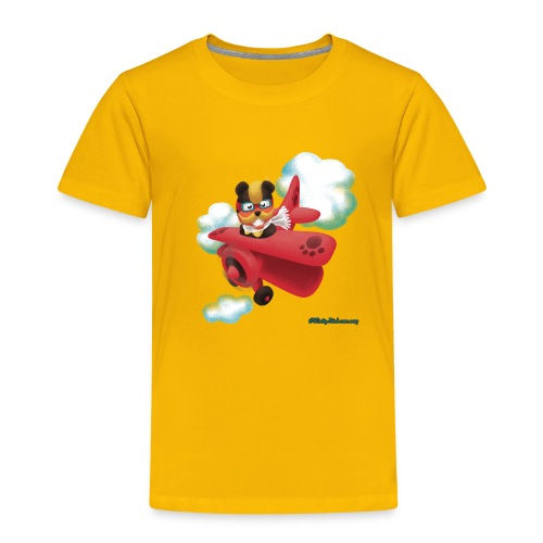 Bearplane - Kids' Premium T-Shirt