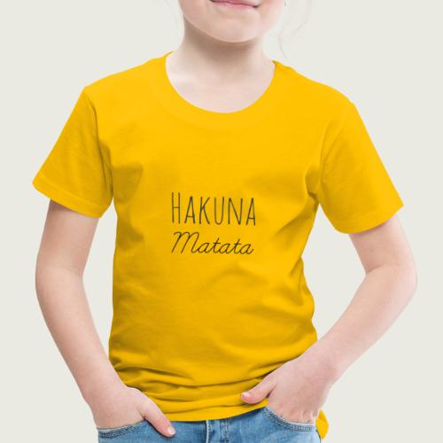 Hakuna - T-shirt Premium Enfant