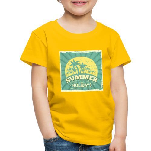 conception lettres ete - T-shirt Premium Enfant