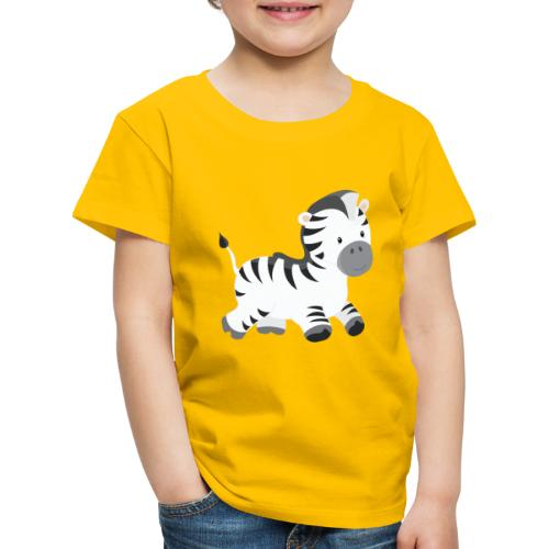 Zebra - Kinder Premium T-Shirt