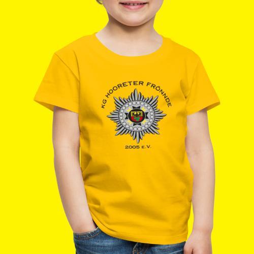 Schwarze Schrift - Kinder Premium T-Shirt