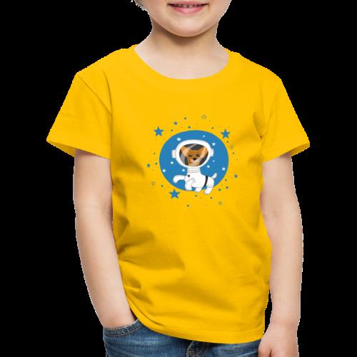 Kleiner Hund im Weltall - Kinder Premium T-Shirt