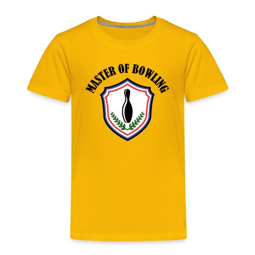 Master Of Bowling - T-shirt Premium Enfant