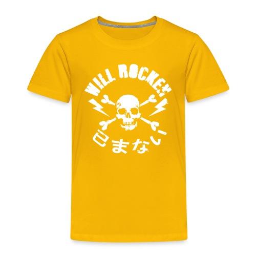 WILL ROCKEN im Kreis - Kinder Premium T-Shirt
