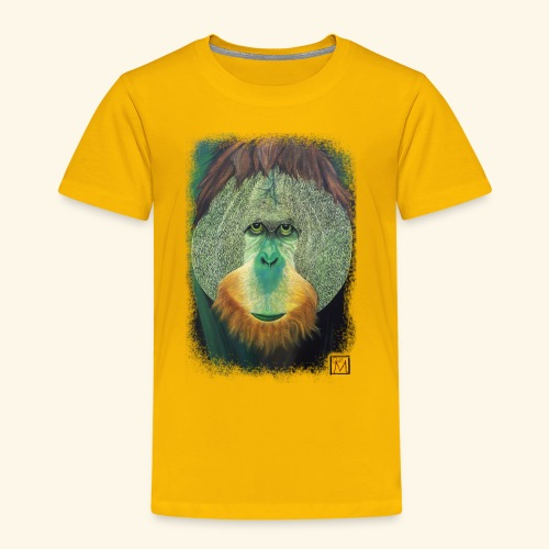 orang druck Kopie png - Kinder Premium T-Shirt