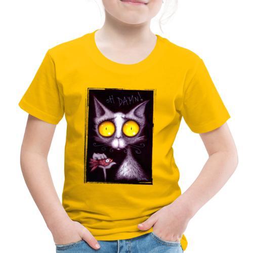 Gattone.... oH Damn! - Maglietta Premium per bambini
