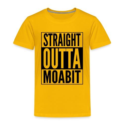 Straight Outta Moabit Stadtteil in Berlin - Kinder Premium T-Shirt