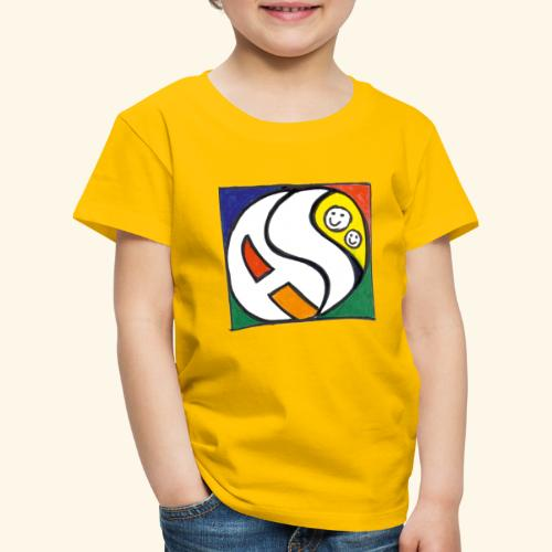 AS (nur Logo) - Kinder Premium T-Shirt