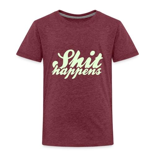 Shit Happens and Politics - Kids' Premium T-Shirt