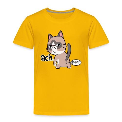 Katzenpups - Kinder Premium T-Shirt