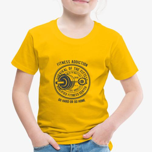 Fitness Addiction - T-shirt Premium Enfant