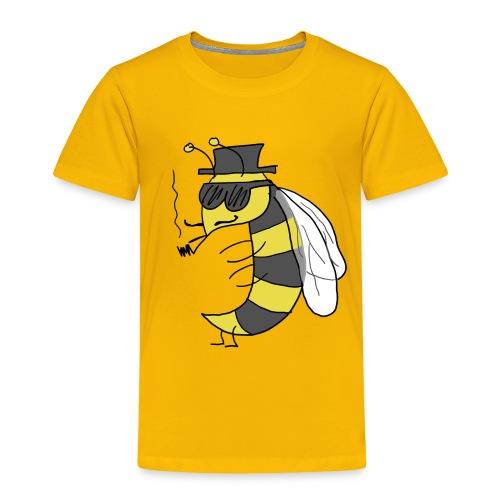 abeja mafiosa png - Camiseta premium niño