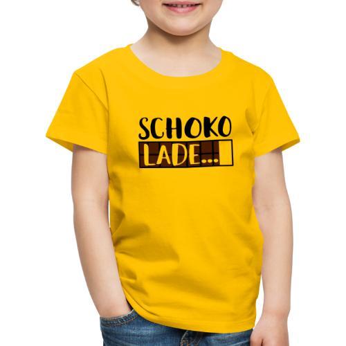 Schokolade Ladebalken Nerd Weihnachtsgeschenk - Kinder Premium T-Shirt