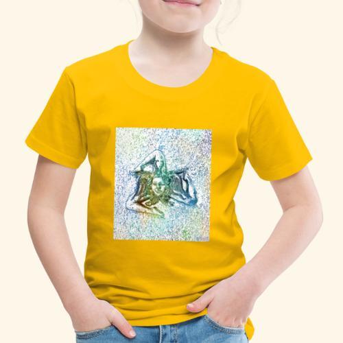 Sonnenrad sizilianisches Zeichen - Kinder Premium T-Shirt
