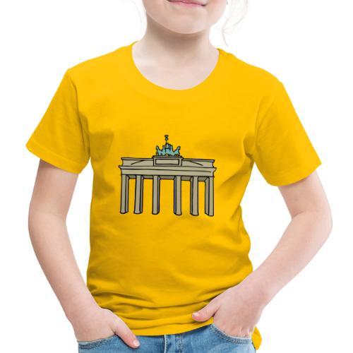 Porta di Brandeburgo a BERLINO c - Maglietta Premium per bambini
