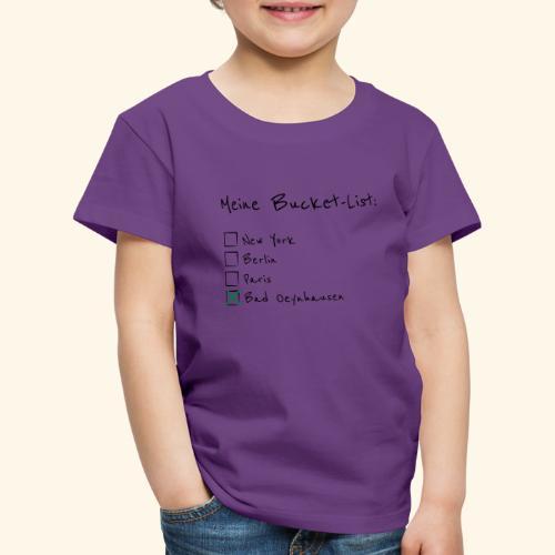 Ich war noch niemals in New York...aber in B.O. - Kinder Premium T-Shirt