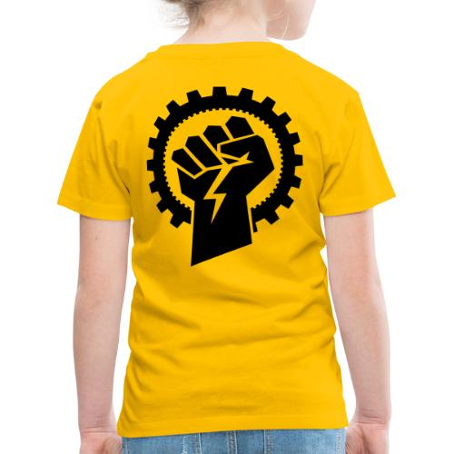 Black MMM logo + Resistance - Børne premium T-shirt