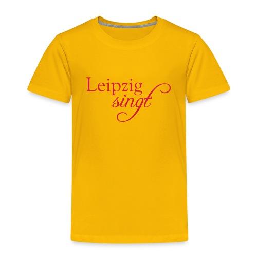 Leipzig singt Logo Rot - Kinder Premium T-Shirt