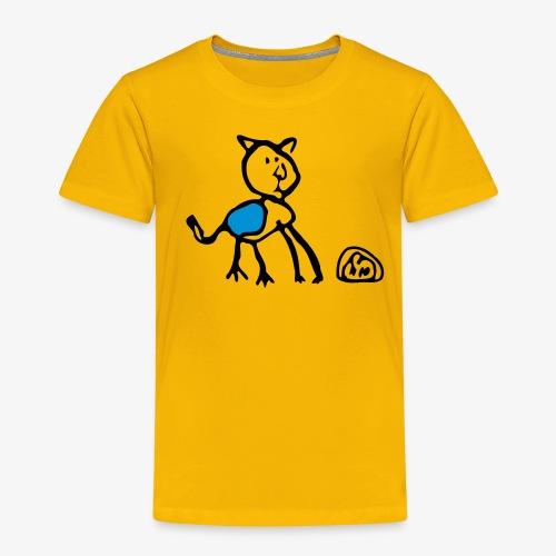 DA CAT Kinder-hoody - Kinder Premium T-Shirt