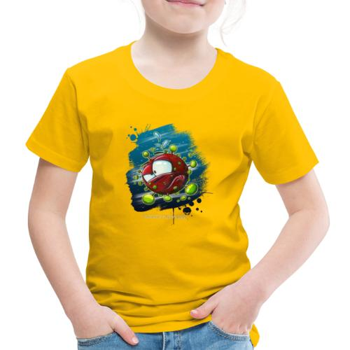 Take a look on the inside - Covid - Kinder Premium T-Shirt