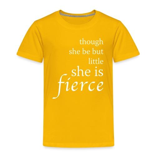 she-is-fierce - Kids' Premium T-Shirt