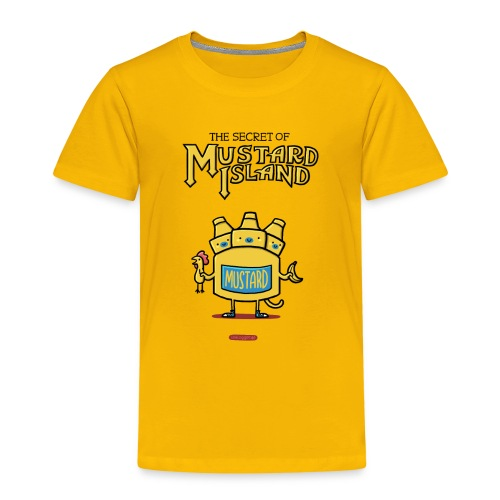 Secret of Mustard Island - Kinder Premium T-Shirt