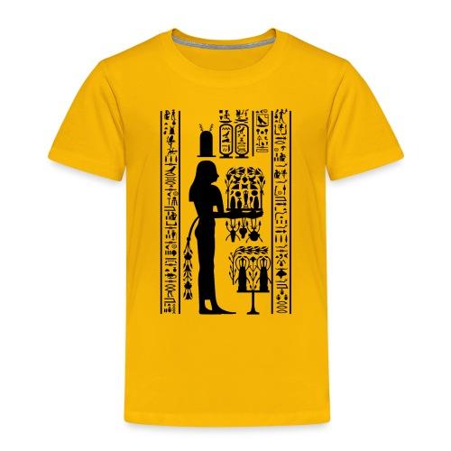 Ägyptische Hierogylphen - Kinder Premium T-Shirt