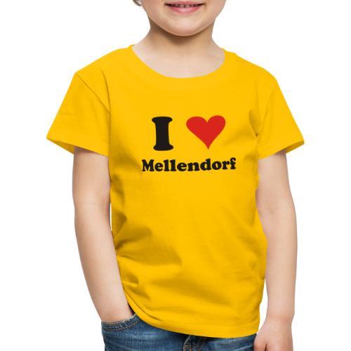 ILoveMellendorf - Kinder Premium T-Shirt