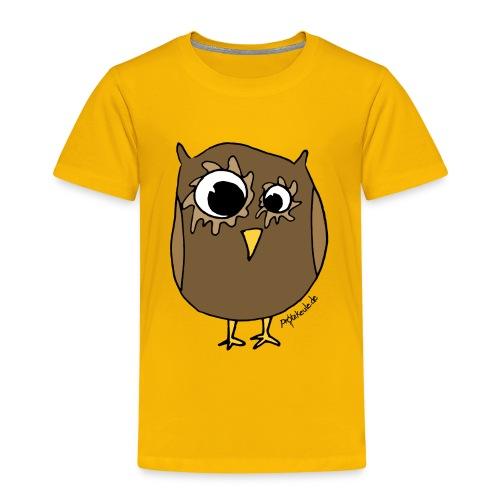ProtzEule braun - Kinder Premium T-Shirt