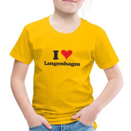 I Love Langenhagen - Kinder Premium T-Shirt