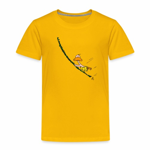 cartoon_Kleimdesign_tarze - Kinder Premium T-Shirt
