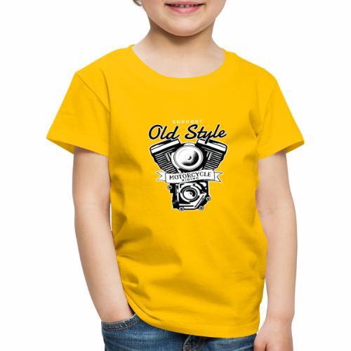 OLD STYLE BIKE - Kinder Premium T-Shirt