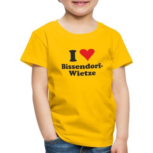 I Love Bissendorf-Wietze - Kinder Premium T-Shirt