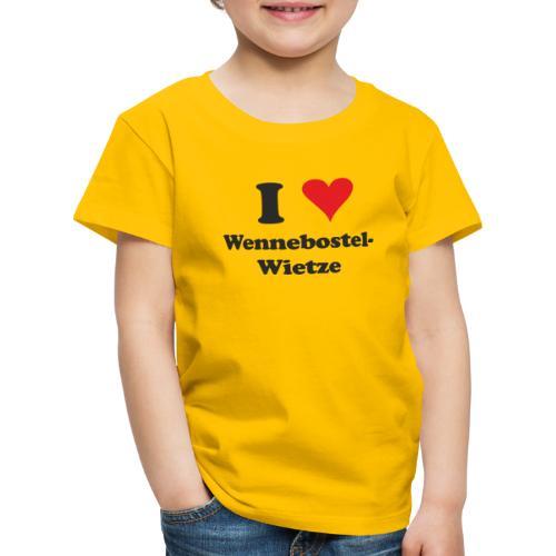 I Love Wennebostel-Wietze - Kinder Premium T-Shirt