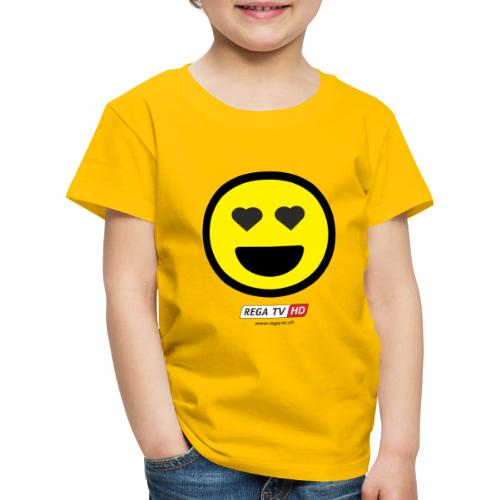 REGA-TV: Smile Herz - Kinder Premium T-Shirt
