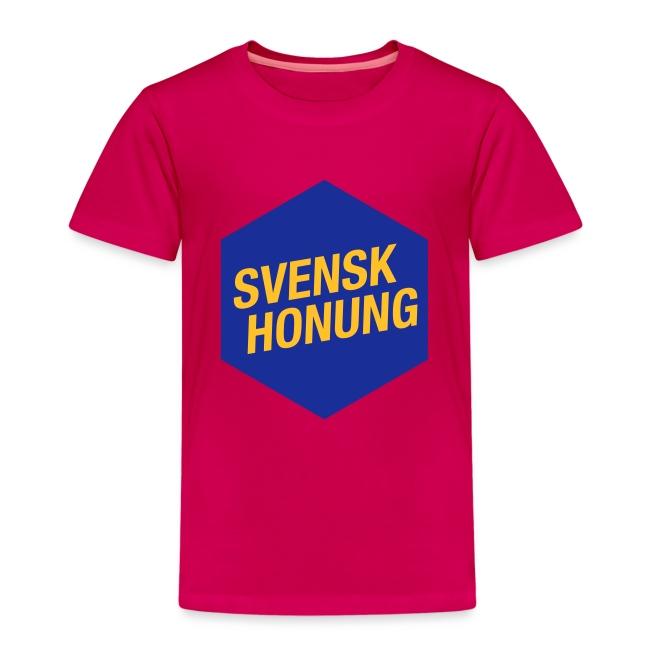 Svensk honung Hexagon Blå/Gul