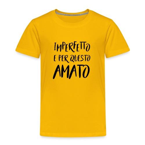 Imperfetto e per questo amato N - Maglietta Premium per bambini