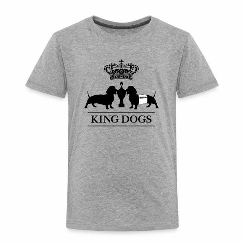 KING DOGS 2wear dog squad - Børne premium T-shirt