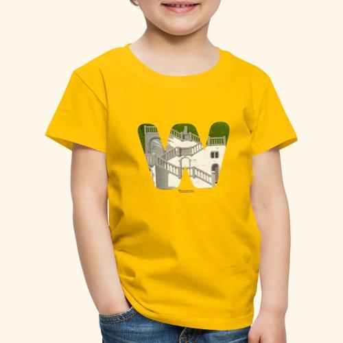 Wuppertal T-Shirt Vogelsauer Treppe - Kinder Premium T-Shirt