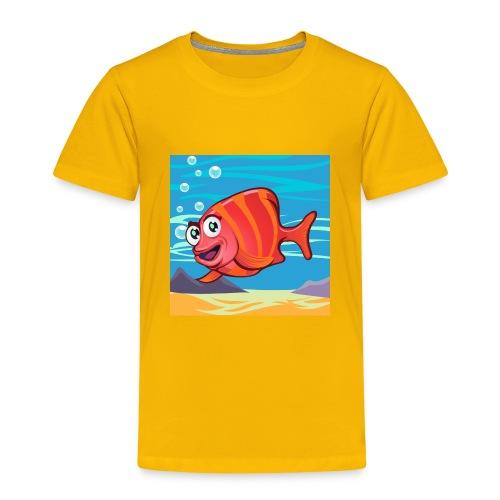 Fish Cartoon - Maglietta Premium per bambini