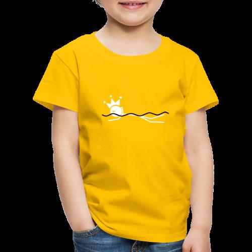 Zwemkoning - Kinderen Premium T-shirt