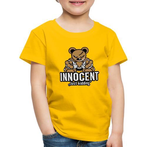 Teddy »Innocent« - Color - Kinder Premium T-Shirt