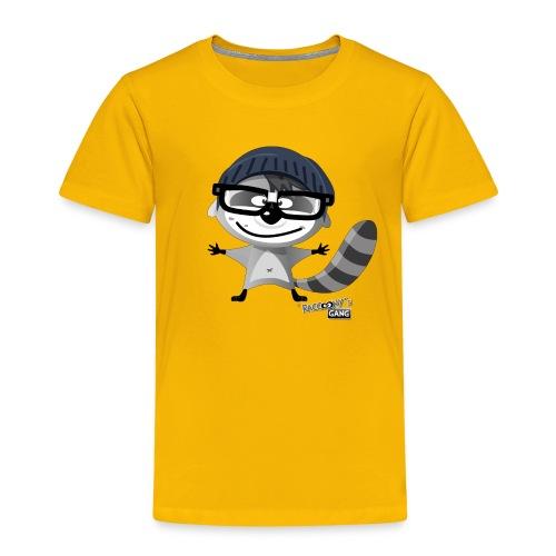 racconys gang nerdy png - Kinder Premium T-Shirt