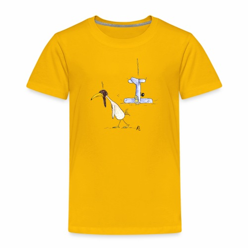 cartoon_Kleimdesign_abstu - Kinder Premium T-Shirt