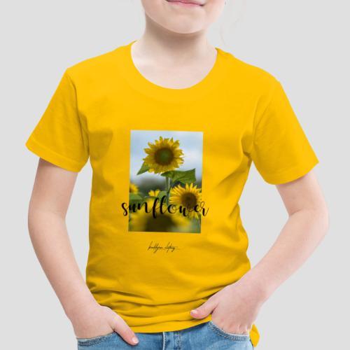 Sunflower - Kinder Premium T-Shirt