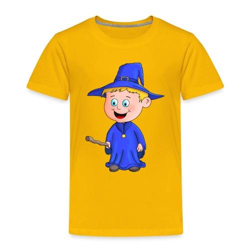 Kleiner Zauberer liebt die Zauberei - Kinder Premium T-Shirt