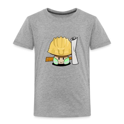 Builder Sun shroom - Kids' Premium T-Shirt