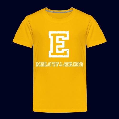 E - Meløyfjæring - Premium T-skjorte for barn