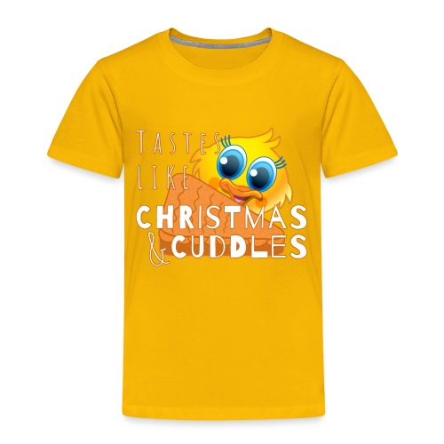 Christmas & Cuddles - Kids' Premium T-Shirt