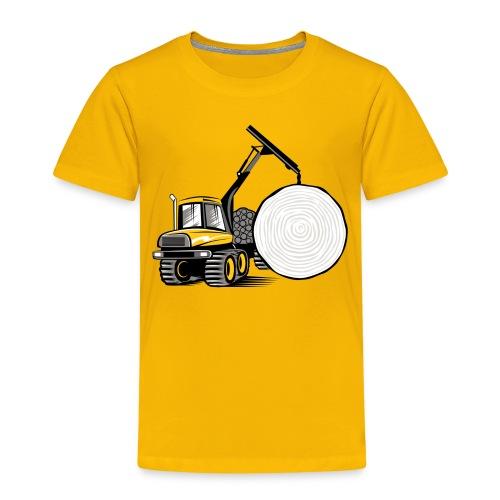 Kuormatraktori t paidat, hupparit, lahjatuotteet - Lasten premium t-paita